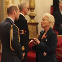 Prinz William & Emma Thompson - Foto: Jonathan Brady