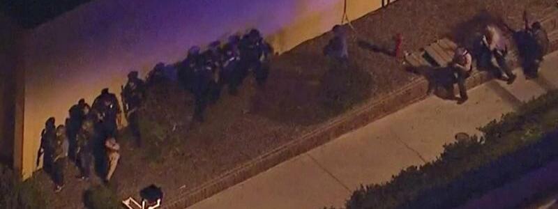 Polizeieinsatz - Foto: KABC/AP