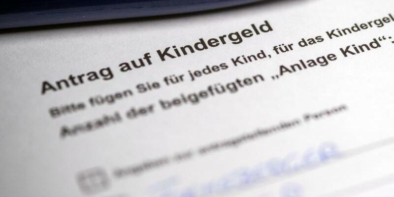 Antrag auf Kindergeld - Foto: Jens Büttner