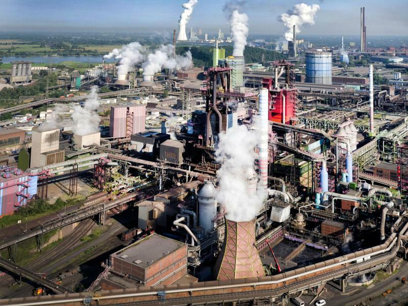 Stahlwerk ThyssenKrupp - Foto: Arnulf Stoffel