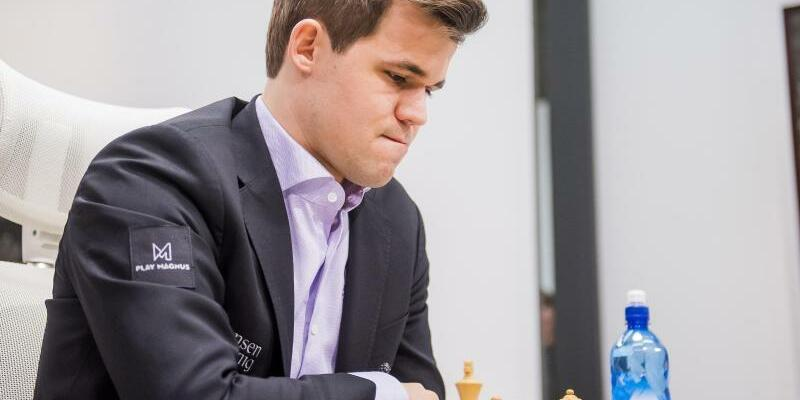 Magnus Carlsen - Foto: Fredrik Varfjell/Bildbyran via ZUMA Press