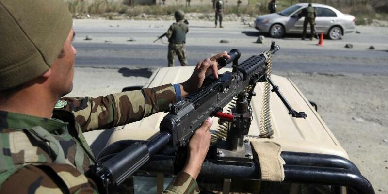 Soldaten in Kabul - Foto: Rahmat Gul/AP