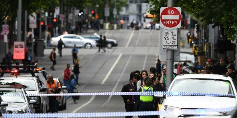Zwischenfall in Melbourne - Foto: James Ross/AAP