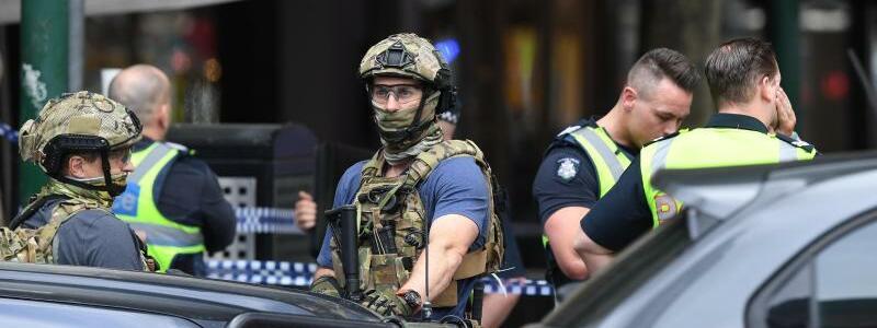Polizeieinsatz - Foto: James Ross/AAP