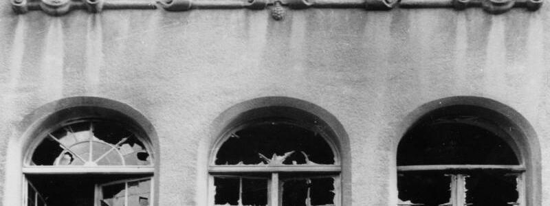 Kieler Synagoge nach Pogromnacht - Foto: Stadtarchiv Kiel