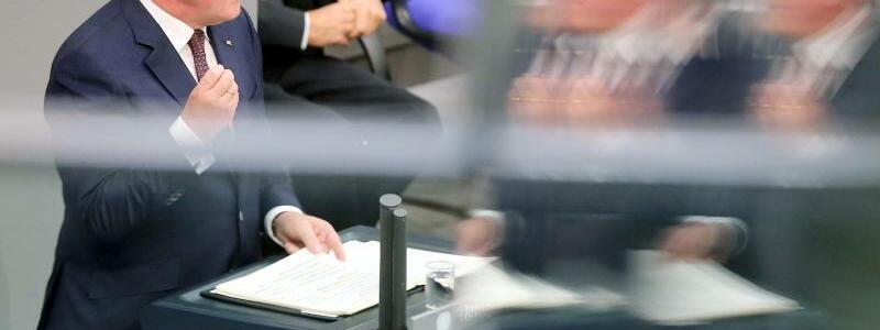 Rede von Steinmeier - Foto: Wolfgang Kumm
