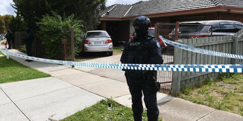 Tatort in Melbourne - Foto: James Ross/AAP