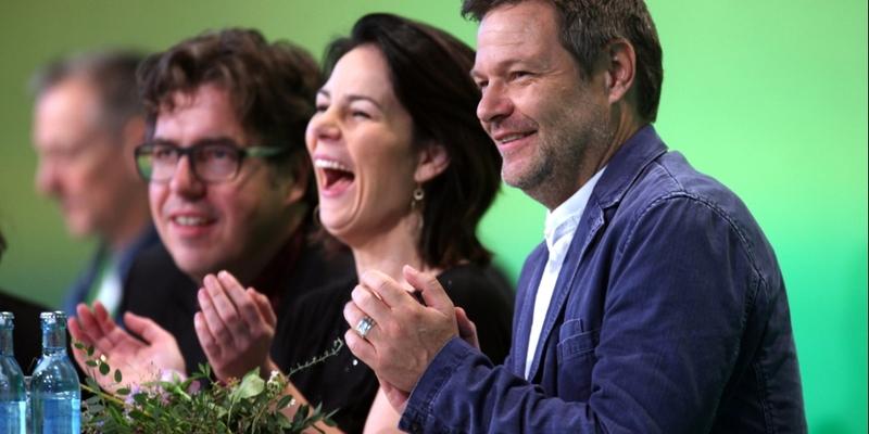 Michael Kellner, Annalena Baerbock, Robert Habeck - Foto: über dts Nachrichtenagentur