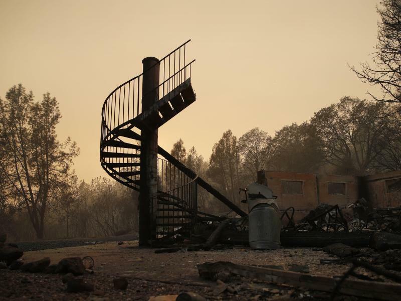 Waldbrände in Kalifornien - Foto: John Locher/AP