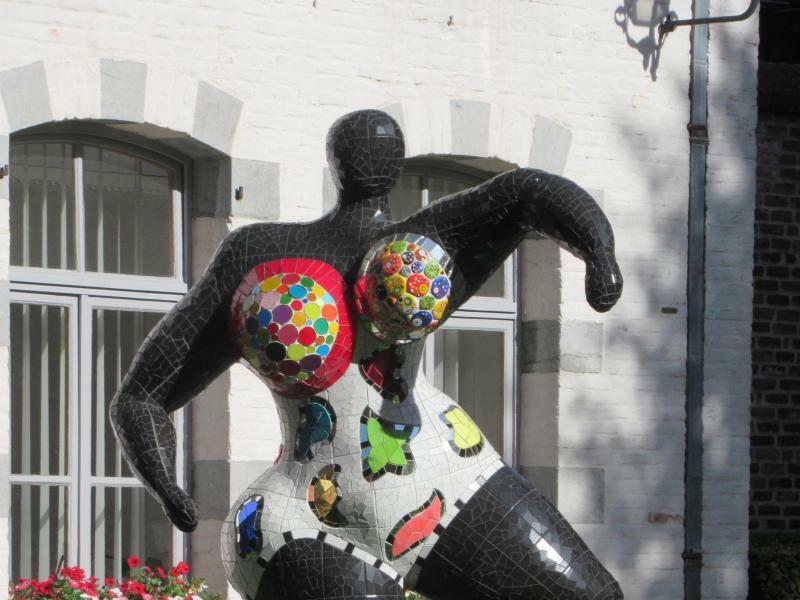 Niki de Saint Phalle in Mons - Foto: Sabine Glaubitz