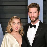 Miley Cyrus & Liam Hemsworth - Foto: Pa/PA Wire