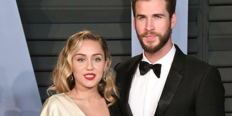 Miley Cyrus & Liam Hemsworth - Foto: Pa/PA Wire