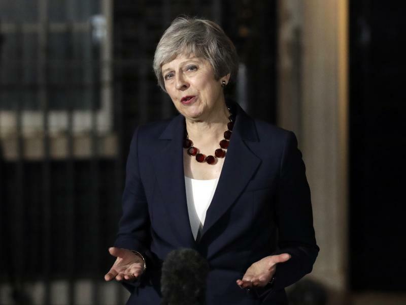 Theresa May - Foto: Matt Dunham/AP