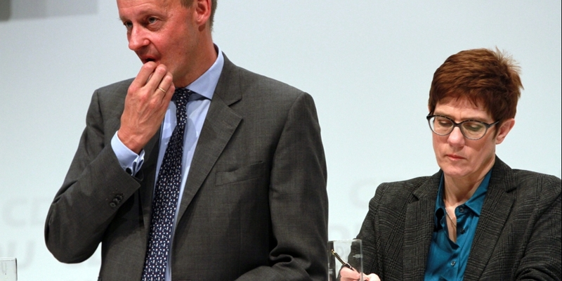 Friedrich Merz und Annegret Kramp-Karrenbauer - Foto: über dts Nachrichtenagentur