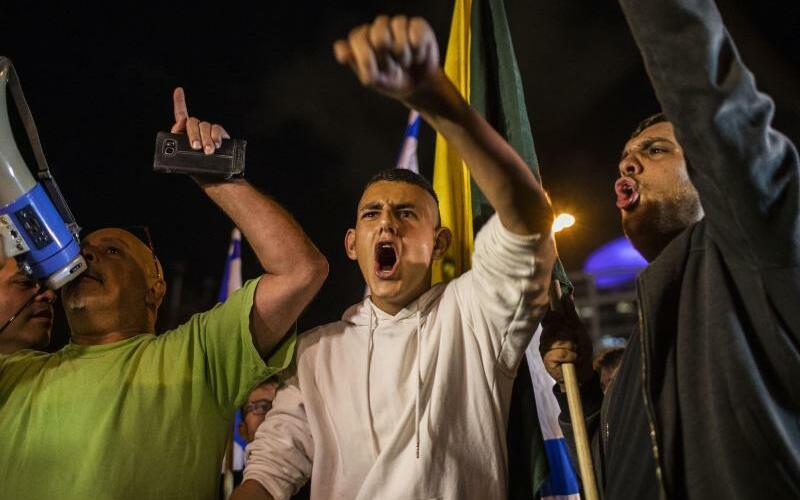 Protest gegen Waffenstillstand - Foto: Ilia Yefimovich
