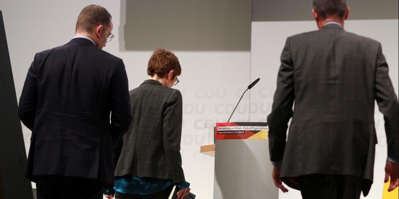 Jens Spahn, Annegret Kramp-Karrenbauer und Friedrich Merz - Foto: über dts Nachrichtenagentur
