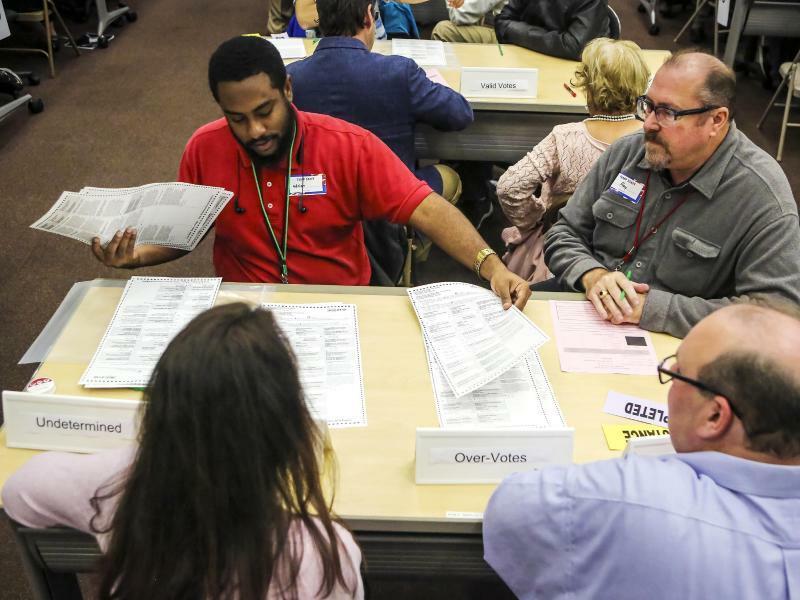 Wahlchaos in Florida - Foto: Jacob Langston/Orlando Sentinel