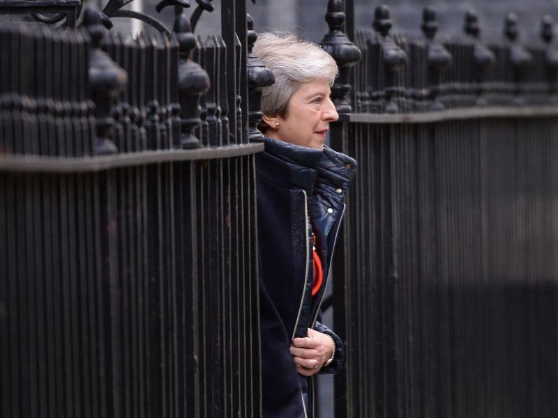 Theresa May - Foto: Stefan Rousseau/PA Wire