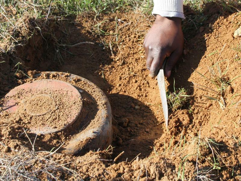 Landmine - Foto: Katia Christodoulou
