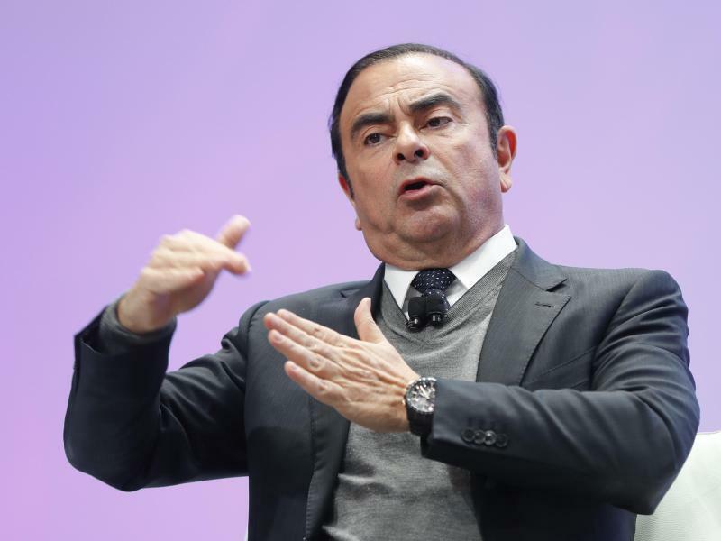Carlos Ghosn - Foto: Paul Sancya/AP/Archiv