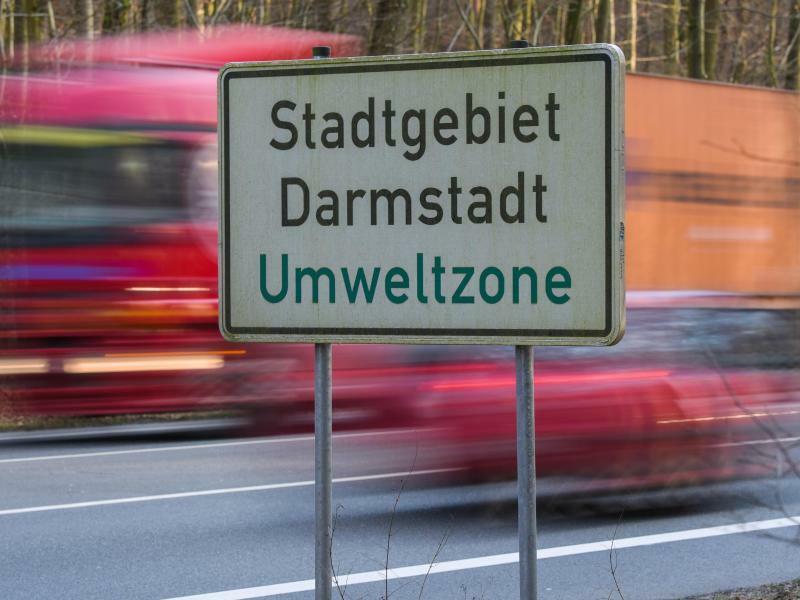 Abgasbelastung in Darmstadt - Foto: Andreas Arnold