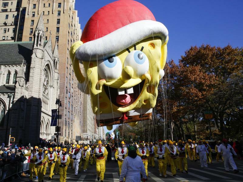 Thanksgiving-Parade in New York - Foto: Eduardo Munoz Alvarez/AP