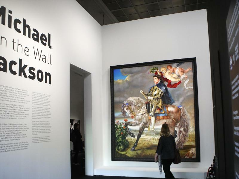 «Michael Jackson On The Wall» in Paris - Foto: Francois Mori