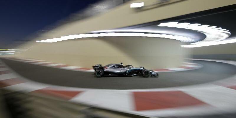 Schnellster - Foto: Lewis Hamilton sorgte im Training für die besten Zeiten. Foto:Luca Bruno/AP