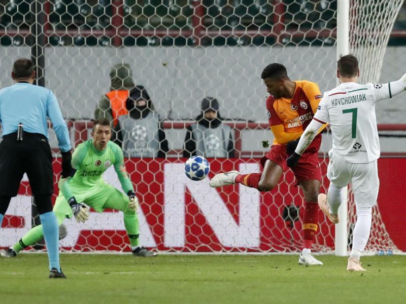 Lokomotive Moskau - Galatasaray Istanbul - Foto: Pavel Golovkin/AP