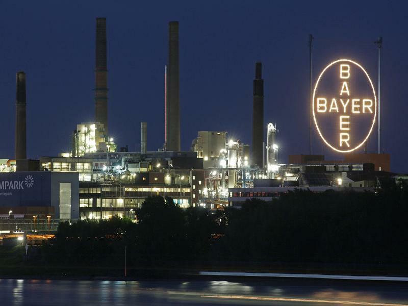 Bayer-Werksgelände in Leverkusen - Foto: Oliver Berg