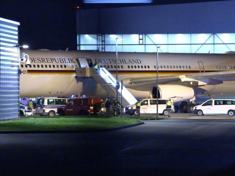 Zwischenfall mit Regierungsflieger - Foto: TeleNewsNetwork