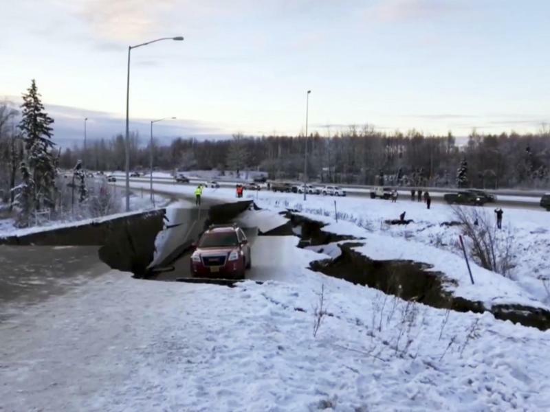 Erdbeben im Süden von Alaska - Foto: ap