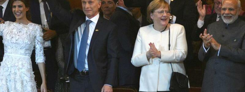 Merkel in Buenos Aires - Foto: G20 Press Office
