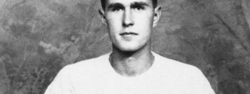 George Bush als Kapitän des Yale-Baseballteams - Foto: AP/Archiv