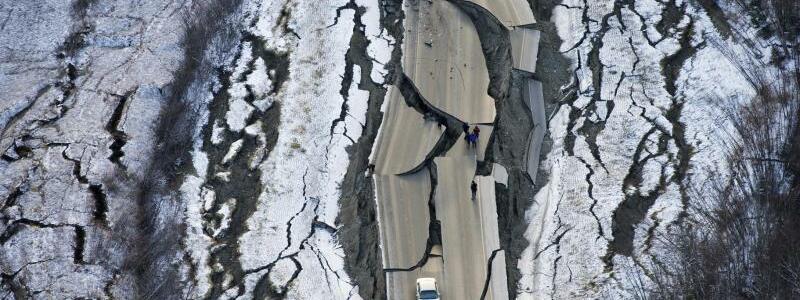 Erdbeben im Süden von Alaska - Foto: Marc Lester/Anchorage Daily News