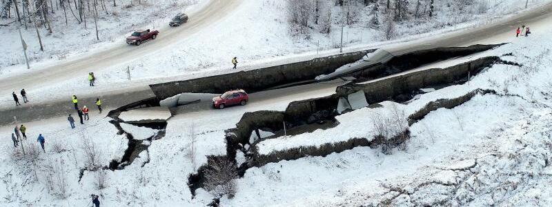 Schluchten in Anchorage - Foto: Ryan Marlow/Alaska Aerial Media/ZUMA Wire