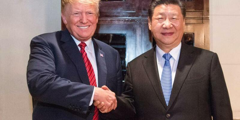 Donald Trump und Xi Jinping in Peking - Foto: XinHua