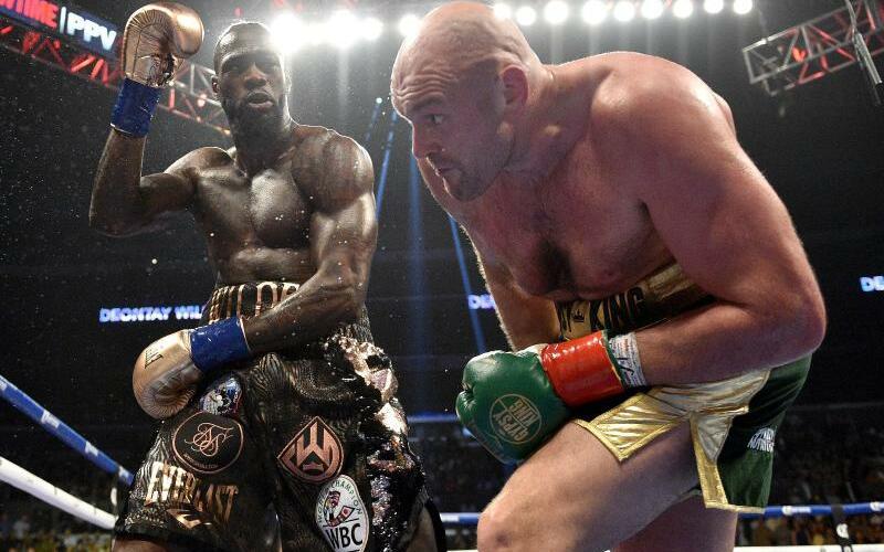 WM-Fight - Foto: Lionel Hahn/PA Wire/dpa