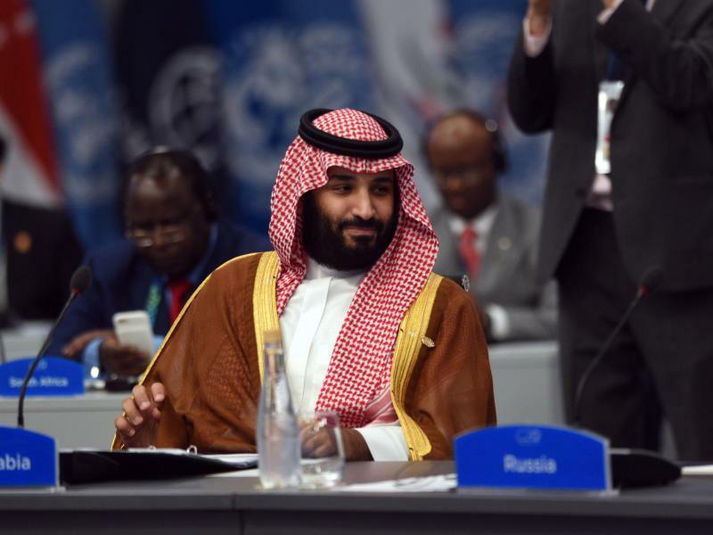 Mohammed bin Salman in Buenos Aires - Foto: G20 Argentina