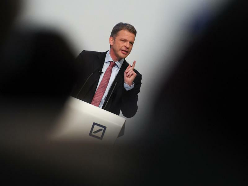 Deutsche-Bank-Chef Christian Sewing - Foto: Arne Dedert