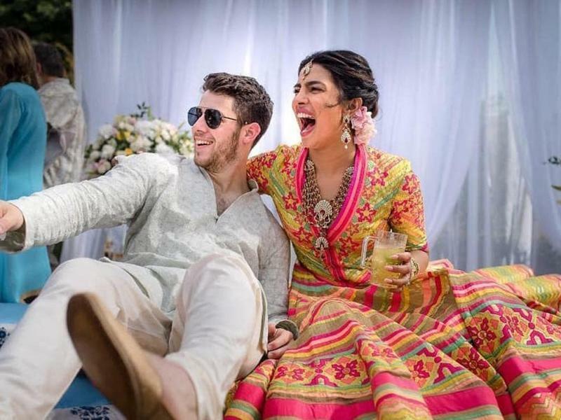 Chopra und Jonas heiraten in Indien - Foto: Raindrop Media/AP