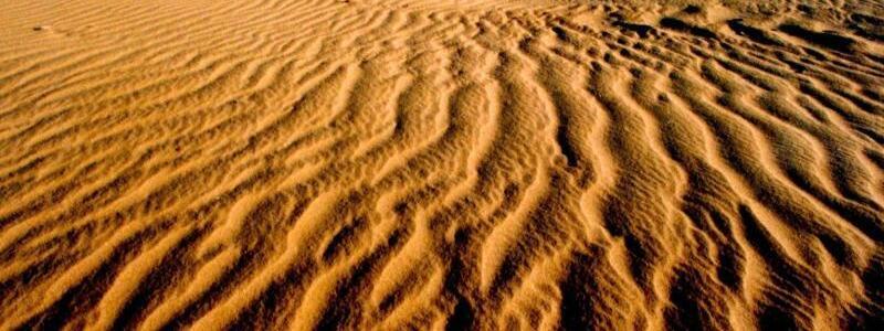 Wüste im Norden Chinas - Foto: Bing Han