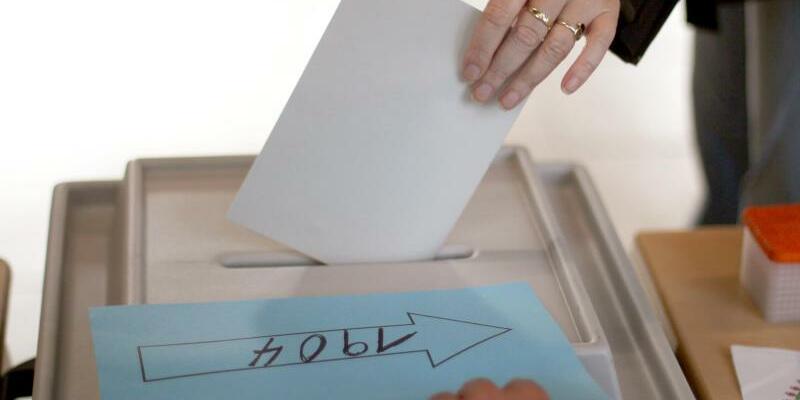 Wahllokal in NRW - Foto: Ina Fassbender