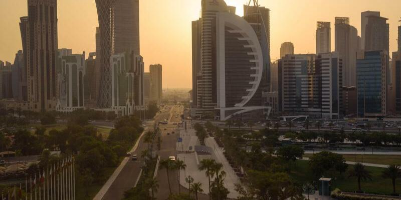 Skyline von Doha - Foto: Gregor Fischer/dpa