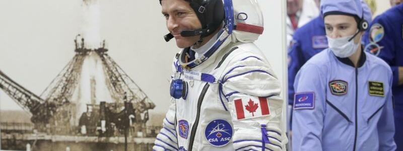 Sojus-Mission - Foto: Dmitri Lovetsky/AP