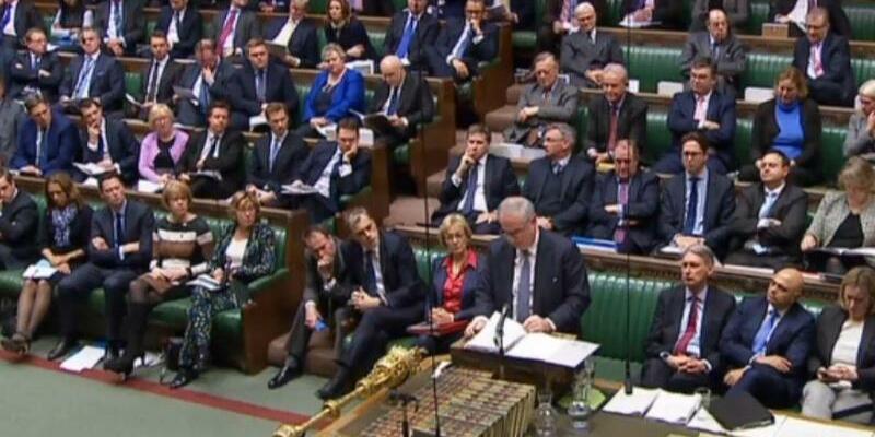 Debatte über das Brexit-Abkommen - Foto: Pa/PA Wire