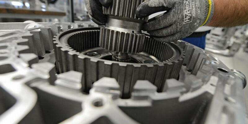 Maschinenbau - Foto: Felix Kästle/Symbolbild