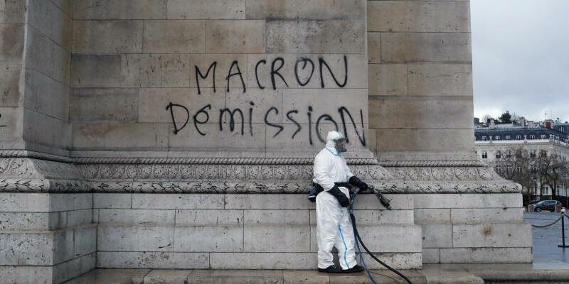 Nach den Ausschreitungen in Paris - Foto: Thibault Camus/AP