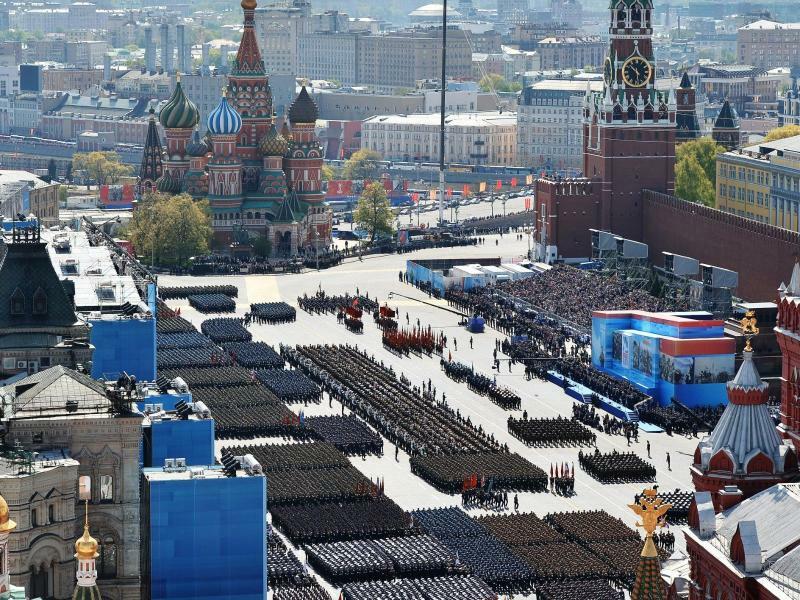 Militärparade - Foto: Maksim Blinov/RIA Novosti