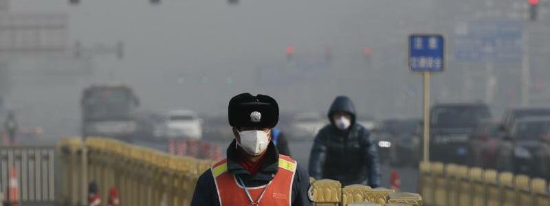 Smog in Peking - Foto: Andy Wong